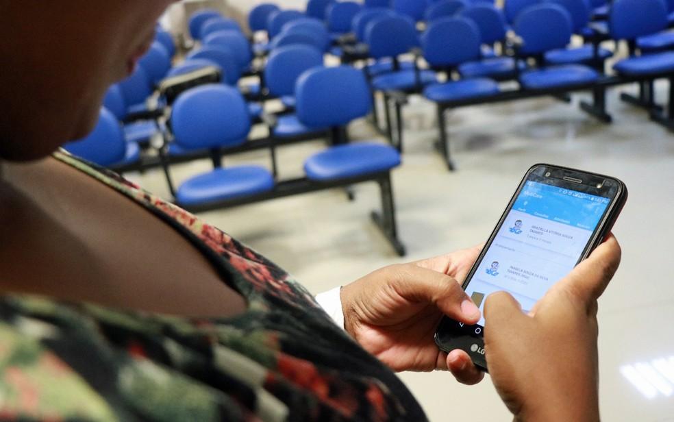 Aplicativo Mobcare monitora pacientes com microcefalia em Pernambuco — Foto: Izabele Brito/Divulgação