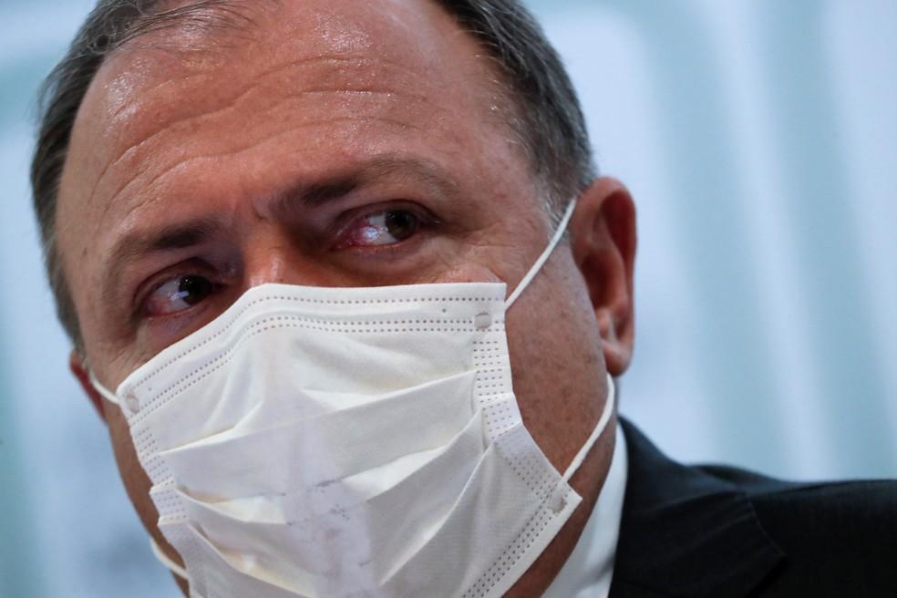 Eduardo Pazuello, ex-ministro da Saúde — Foto:  REUTERS/Ueslei Marcelino