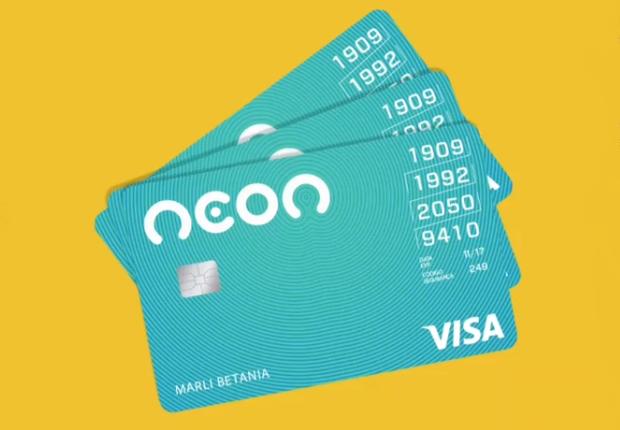 Cartão do Banco Neon (Foto: Divulgação)