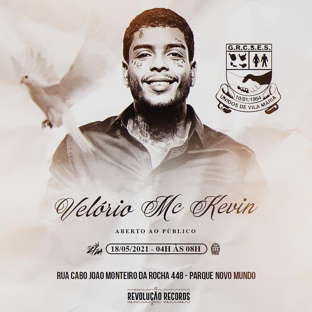 Velório de MC Kevin será aberto ao público (Foto: Reprodução  Instagram)