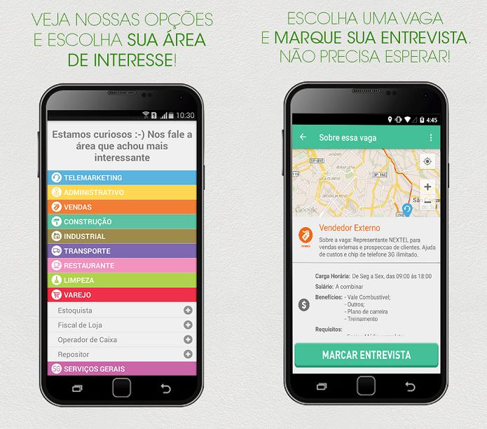Procure trabalho com este novo app de empregos (Foto: Divulgação)
