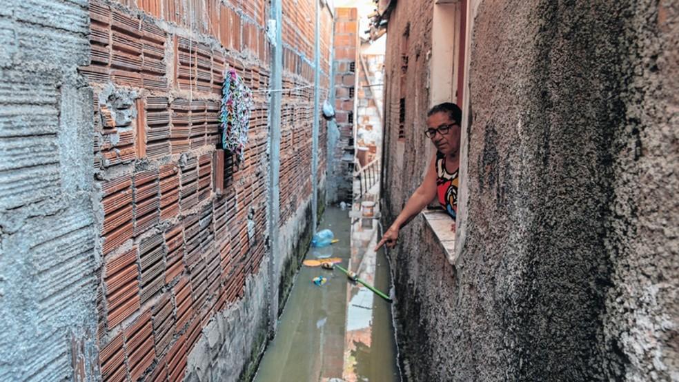 Redução de repasses dificulta investimento em obras de saneamento no Ceará — Foto: Kleber Gonçalves/SVM