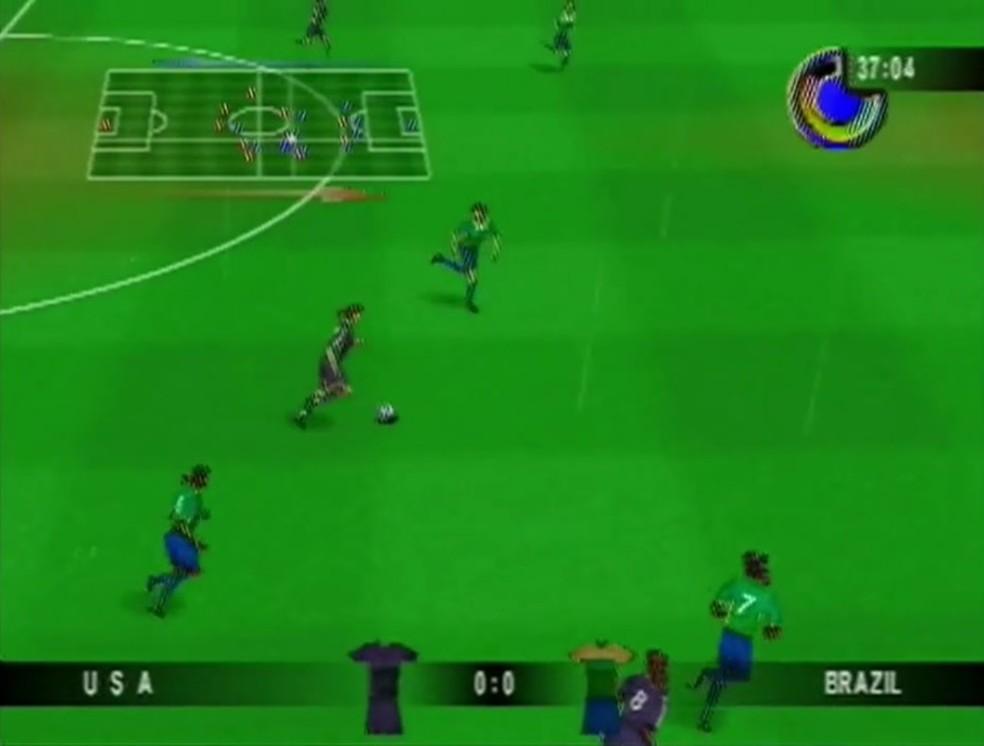 Mia Hamm 64 levou o futebol feminino para os games alguns anos antes de FIFA 16 (Foto: Reprodução/YouTube)