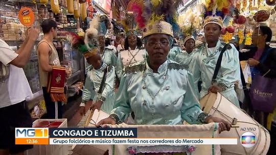 Grupo de Congado e músico Maurício Tizumba celebram 120 anos de BH