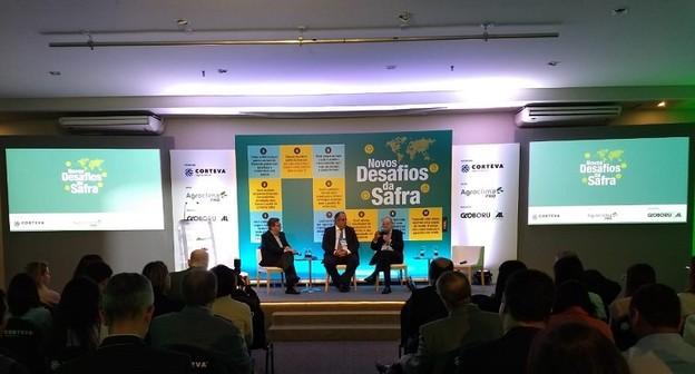 Seminário promovido por Globo Rural debate os desafios do agronegócio