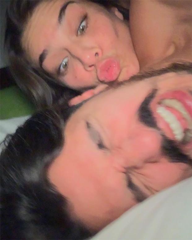 Priscila Fantin e o noivo, Bruno Lopes (Foto: Reprodução / Instagram)