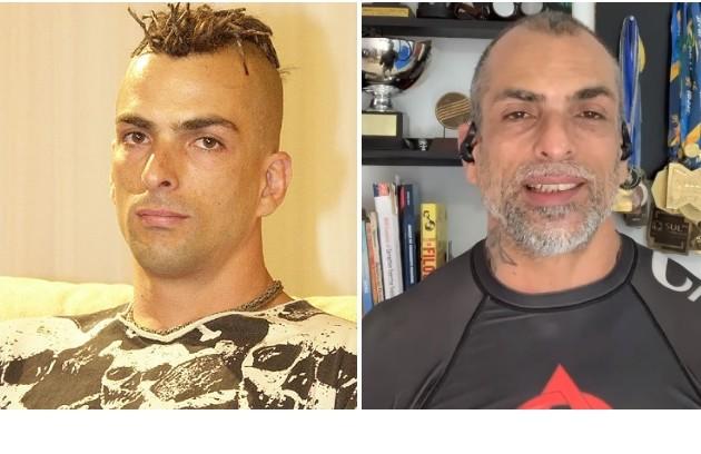 """Buba, o mais velho do """"BBB"""" 4, com 32 anos à época, faleceu em 2006. O segundo mais experiente da casa era Marcelo Dourado, com 31. Hoje, aos 48, é professor de luta (Foto: Reprodução)"""