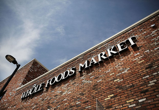 Fachada do Whole Foods Market em Nova York (Foto: Spencer Platt/Getty Images)