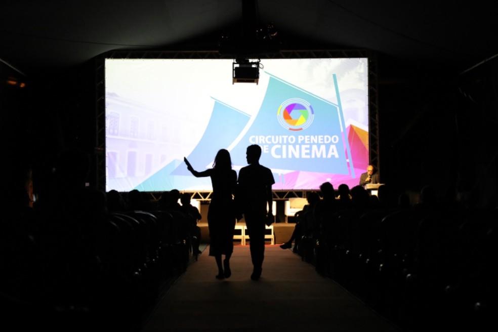 Circuito terá exibições com público presencial e pela internet — Foto: Circuito Penedo de Cinema