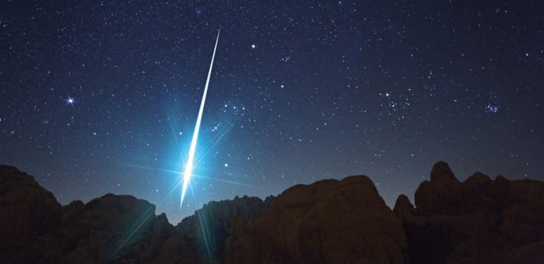 Chuvas de meteoros podem ser vistas no céu do Ceará neste fim de semana; saiba como assistir