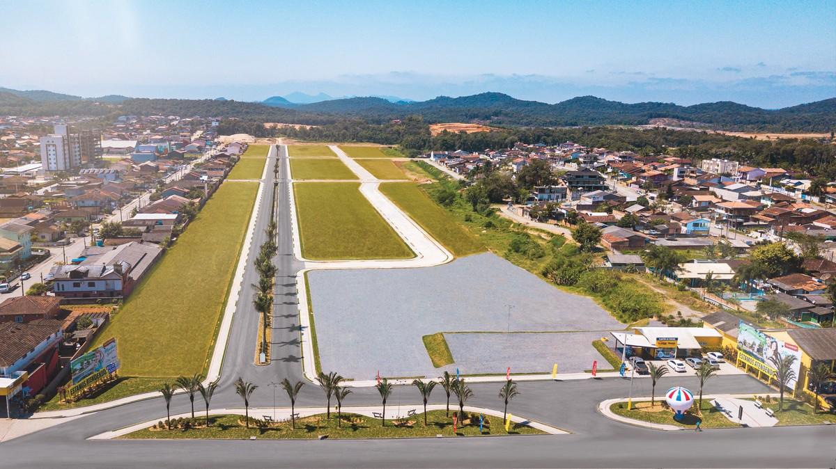 Araquari recebe maior obra de loteamento da história de Santa Catarina - G1