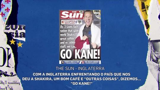 """Jornalista colombiano comenta repercussão de tabloide inglês no país: """"Vamos nos vingar em campo"""""""