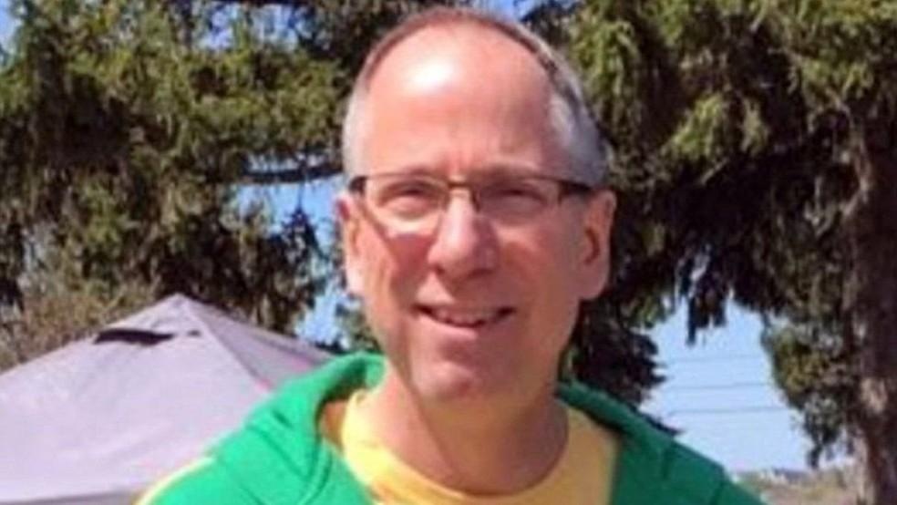 Jeff Murphy, de 53 anos, faleceu durante uma excursão a uma montanha do Parque Nacional Yellowstone em 2017  (Foto: CBS via BBC)