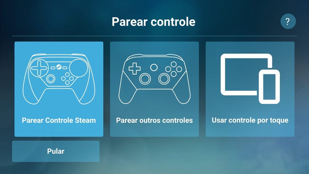 É possível parear controles via Bluetooth para melhorar a jogabilidade — Foto: Reprodução/Gabriela Rodrigues