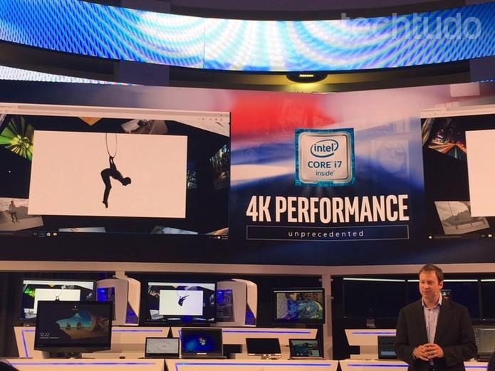 Processadores trazem tecnologia 4K (Foto: Laura Martins / TechTudo)