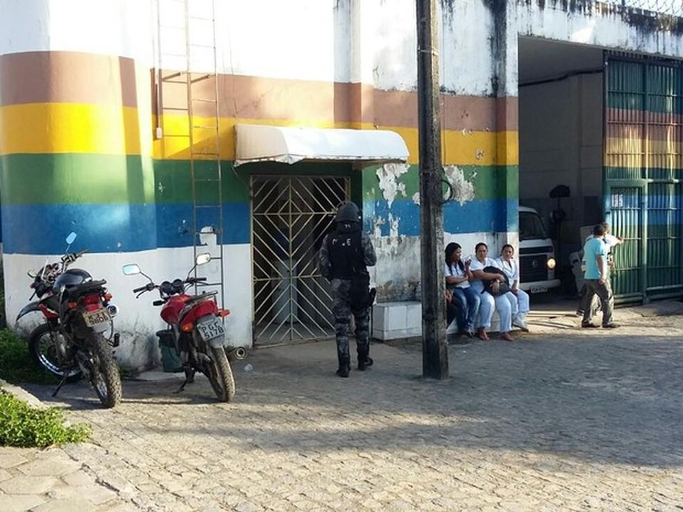 Unidade da Funase de Abreu e Lima, no Grande Recife — Foto: Cacyone Gomes/TV Globo