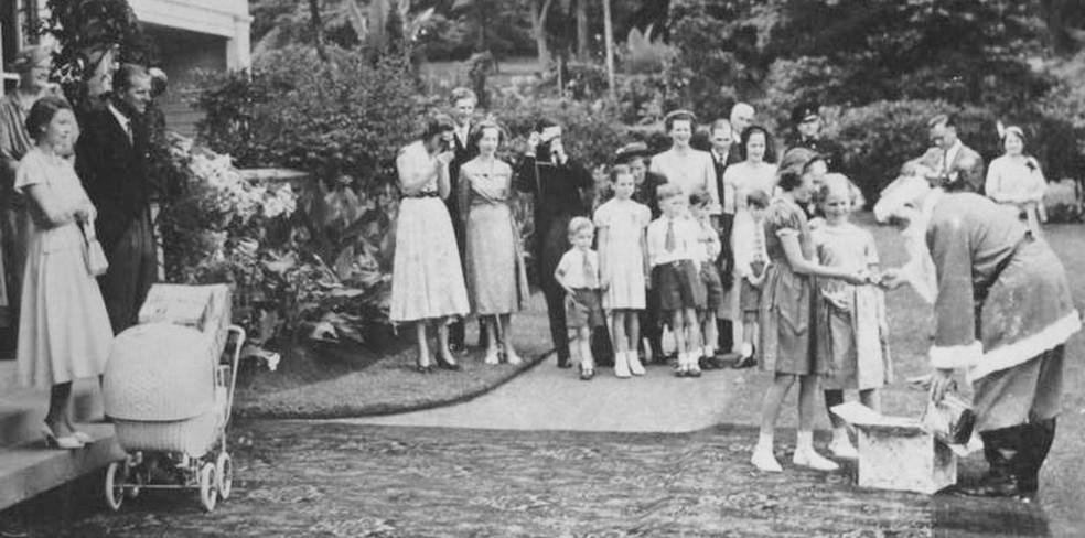 A família real britânica — Foto: Família real britânica