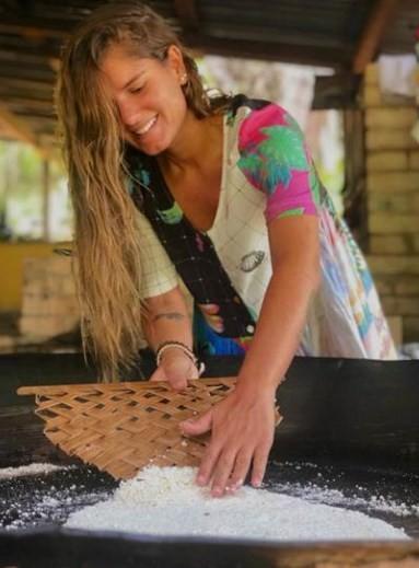 A chef Tati Lund: inspiração amazônica