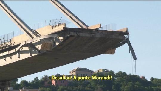 Divulgada ligação avisando sobre a queda da ponte em Gênova