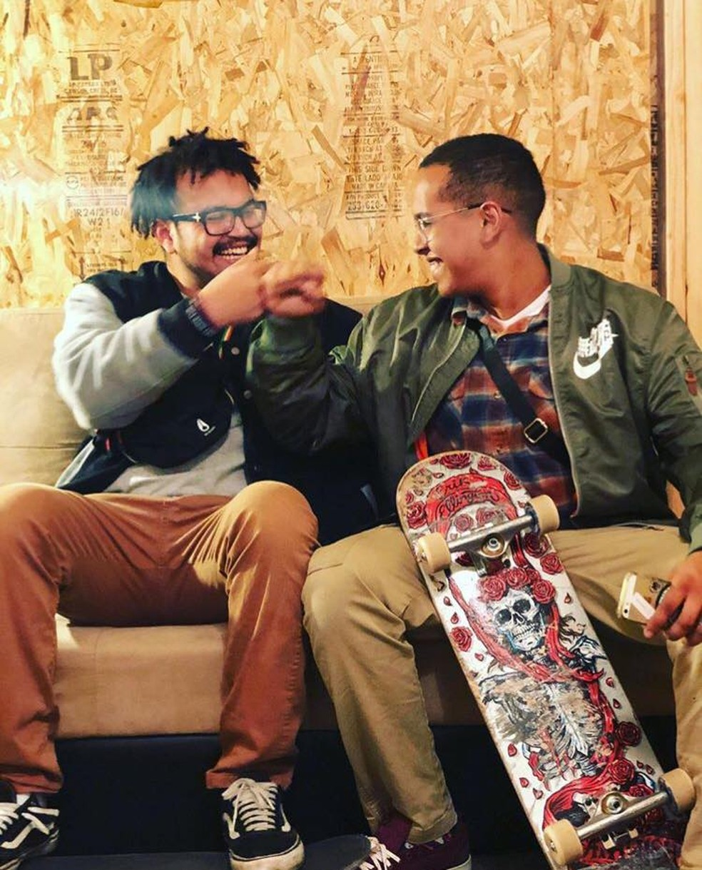 Irmãos Tomé (à esquerda) e Túlio, do Piauí, foram vítima de acidente automobilístico nos Estados Unidos — Foto: Reprodução/ Facebook