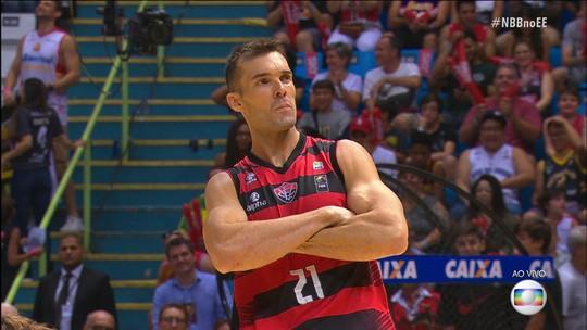 Murilo Becker é o grande campeão do desafio de habilidades