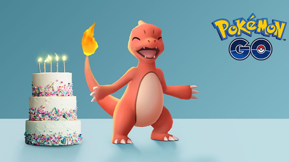 Pokémon Go comemora seu aniversário de 5 anos com Darumaka, Pikachu Voador e vários bônus para treinadores — Foto: Reprodução/Pokémon Go