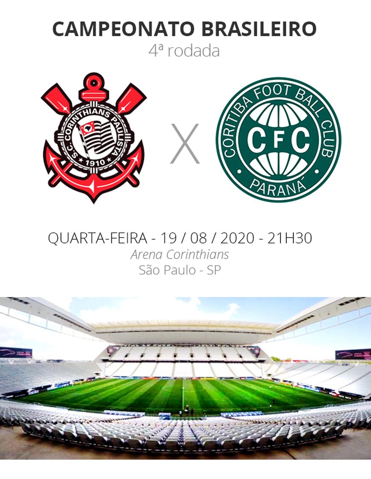 Corinthians X Coritiba Veja Onde Assistir Escalacoes Desfalques E Arbitragem Brasileirao Serie A Ge