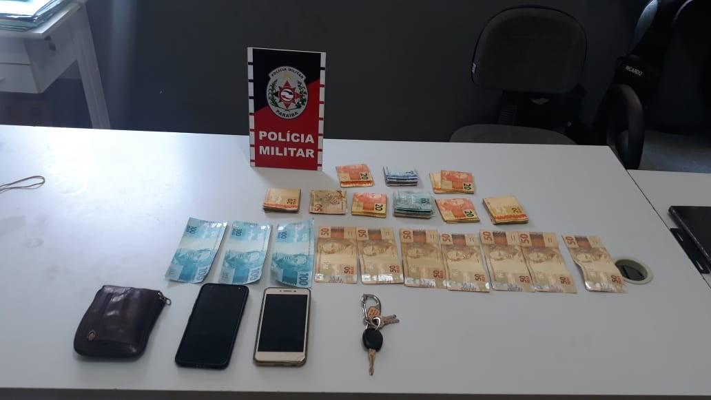 Trio é preso suspeito de aplicar golpes em comerciantes de São Bento, PB, com cédulas falsas - Notícias - Plantão Diário