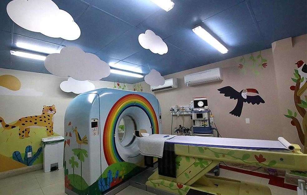 Hospital Varela Santiago foi reformado por cerca de 40 profissionais — Foto: Canindé Soares
