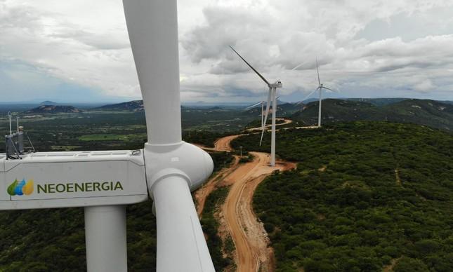 Complexo Eólico Chafariz, no sertão da Paraíba