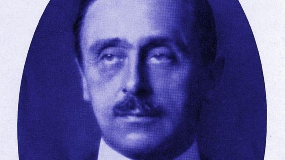 Constantin von Economo é conhecido sobretudo por ter descoberto a encefalite letárgica — Foto: Getty Images/BBC