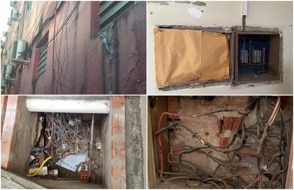 Atual sede da Câmara de Rio Branco apresenta diversos problemas estruturais, segundo presidente — Foto: Arquivo pessoal