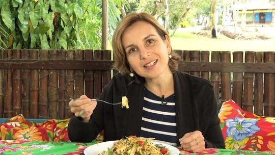 Teresa Freitas encontrou histórias saborosas em Paraty, neste sábado (18)