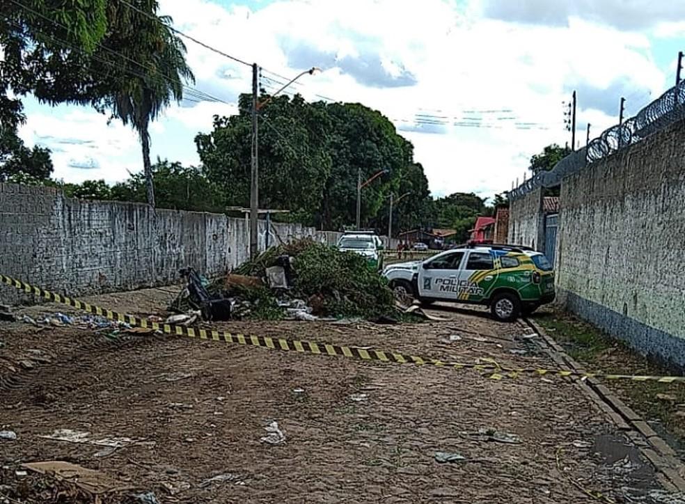 Jovem encontrado morto em contêiner era morador de rua — Foto: Reprodução