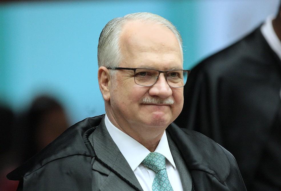 O ministro do STF Luiz Edson Fachin (Foto: Carlos Moura/STF)