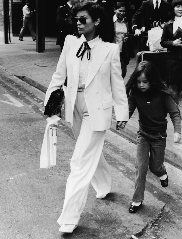 Bianca Jagger em 1979 (Foto: Getty Images)