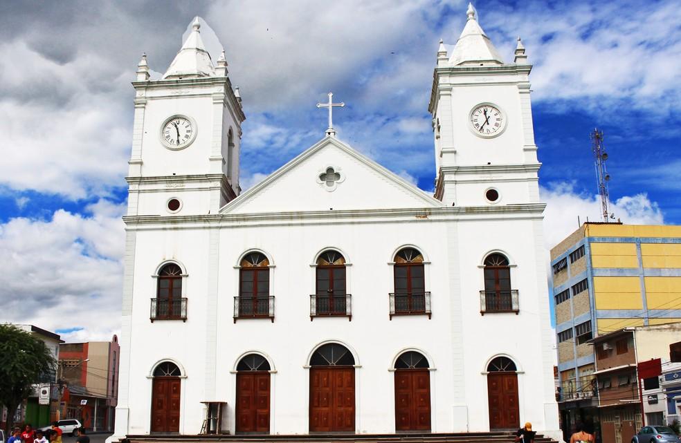 Igreja Católica em Pesqueira (Foto: Assessoria/Divulgação)