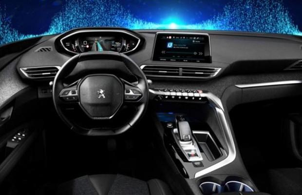 Interior Do Novo Peugeot 3008 233 Revelado Auto Esporte