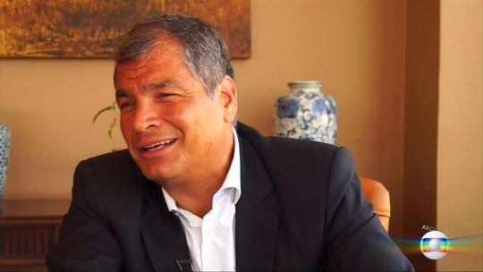Justiça do Equador deve enviar à Interpol pedido de extradição de ex-presidente