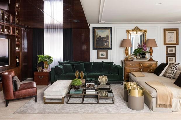 Reforma aposta em arquitetura atual e acabamentos luxuosos (Foto: Divulgação)