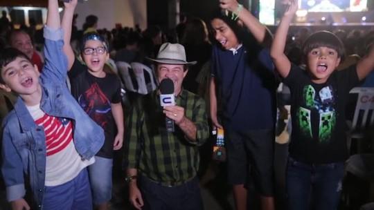 'Missão Repórter Combinado' invade a Festa dos Youtubers