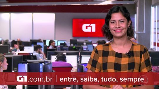 G1 em 1 Minuto: Ministro Marcos Pontes é internado em Brasília