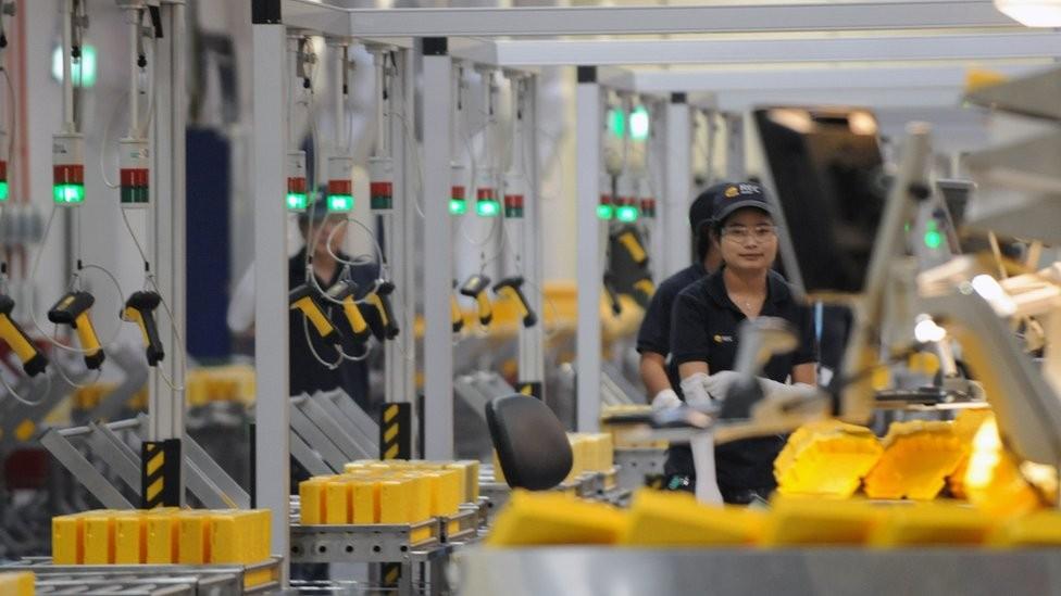A desaceleração da economia chinesa pode ter um impacto direto em Cingapura (Foto: Getty Images via BBC)