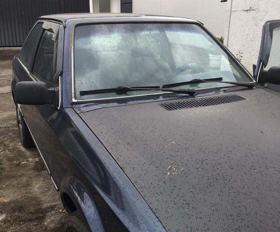 Carro do jovem foi encontrado em um motel em São Vicente, SP. (Foto: Reprodução/ Facebook)