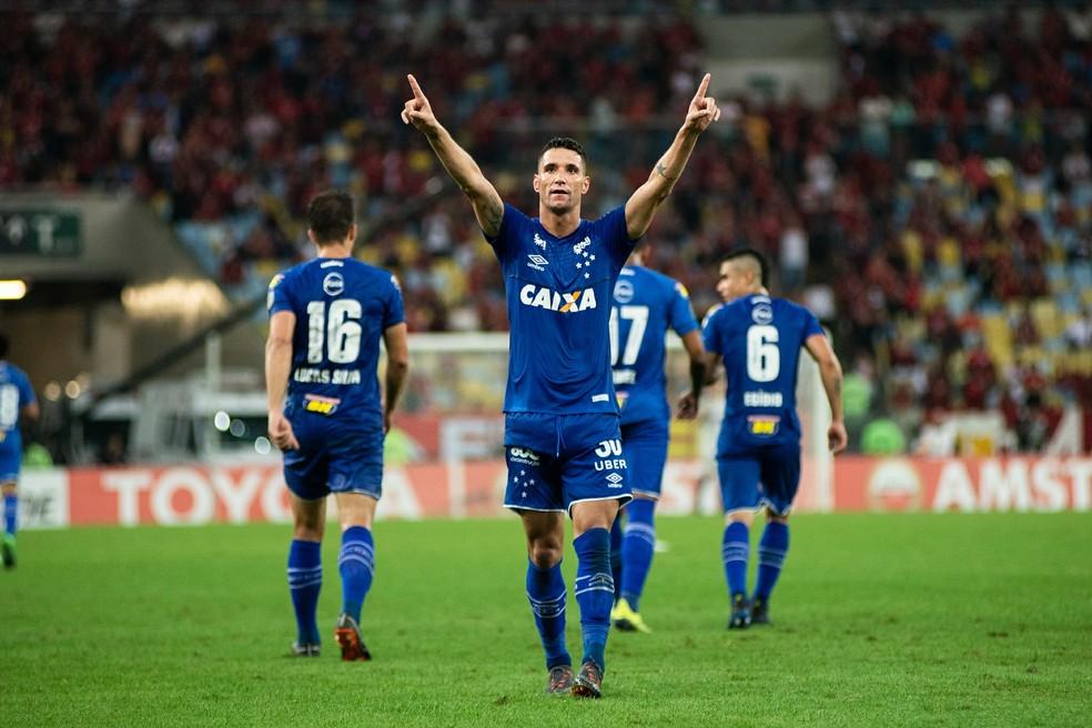 Cruzeiro venceu o Flamengo na partida de ida por 2 a 0 (Foto: Bruno Haddad / Cruzeiro)