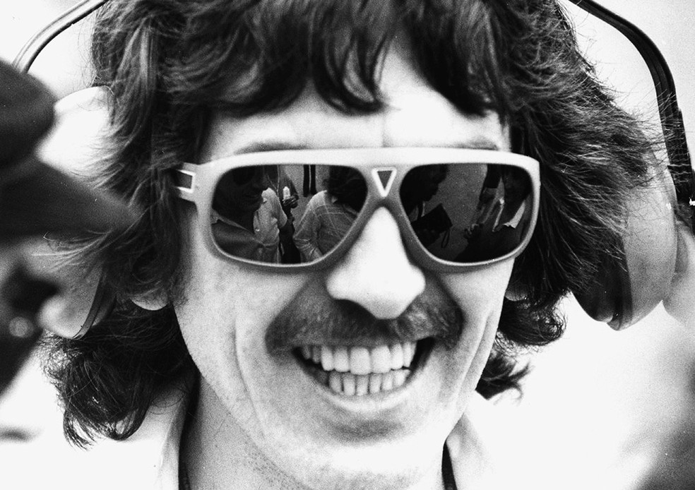 George Harrison veio ao Brasil pela primeira vez em 1979 — Foto: Reprodução