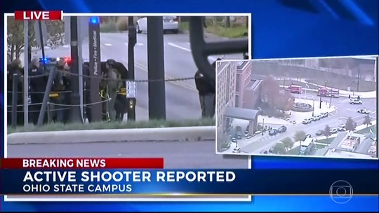 Suspeito é morto após ferir nove pessoas na Universidade de Ohio
