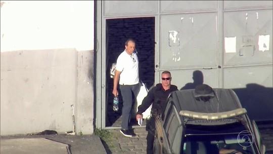 Cabral chega à PF em Curitiba após suspeita de regalias no Rio