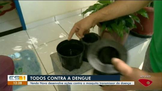 Venda Nova do Imigrante, ES, desenvolve ações contra o mosquito transmissor da doença