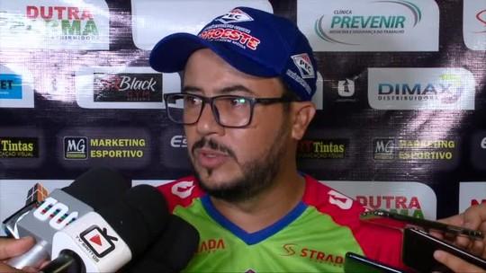 Ainda sem vencer no Piauiense, Lucas Andrade se diz tranquilo e não vê problema em demissão